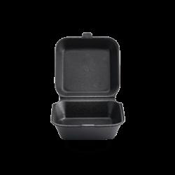 Contenedor comida P1 negro Darnel  x 200 unidades