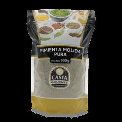 Pimienta Negra Molida 100% Pura Casta Gourmet x 500gr