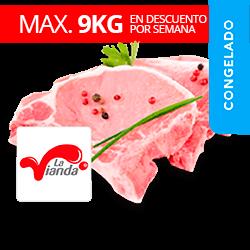 Chuleta de cerdo La Vianda