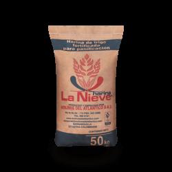 Harina de trigo La Nieve 50kg