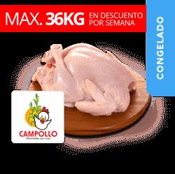 Pollo Entero Sin Viceras - Campollo