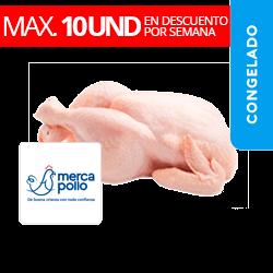 Pollo Entero Marinado - Mercapollo