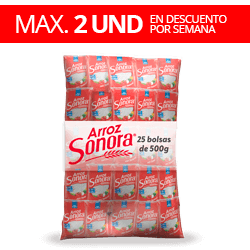 Arroz Sonora 12.5kg