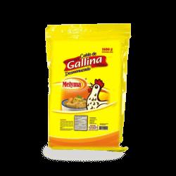 Caldo de gallina desmenuzado Melyma
