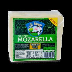 Queso Mozzarella en bloque La Pampa x 400 g