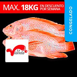 Mojarra Roja - La Vianda (150g-250g Aprox)