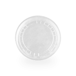 Tapa Vaso Transparente 50 Unidades