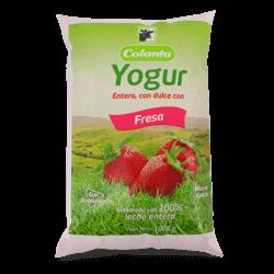 Yogur de Fresa Colanta x 1000 ml