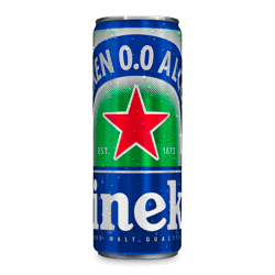 Cerveza de lata sin alcohol 0.0% - Heineken
