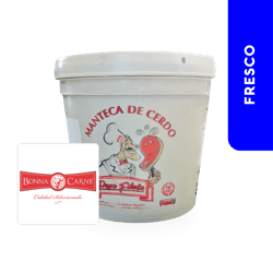 Manteca de Cerdo Bonnacarne 3.5 Kg