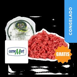 Combo Queso Oaxaca Quinta Verde  Aprox 1 Kg + Gratis 100g Carne Molida Res Carnemart