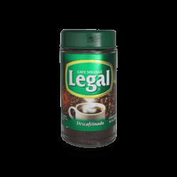 Café Legal Soluble Descafeinado 180 gr.