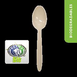 Cuchara Biodegradable Paquete x 25 piezas