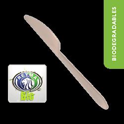Cuchillo Biodegradable Paquete x 25 piezas