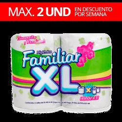 Papel Higiénico Familiar XL