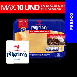 Pechuga Entera Con Hueso y Piel  Aprox 700 g Pilgrims