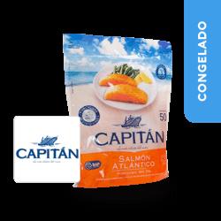 Salmón Chileno Sin Piel  Capitán Bolsa x 500 g