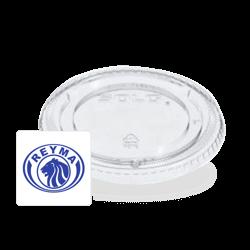 Tapa para vaso 32 propileno biodegradable con silhueta de ranura Reyma