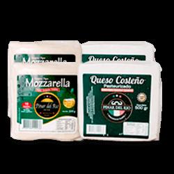 Duo Costeño y Mozzarella Tajado