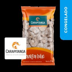 """Camarão Cinza Pequeno desc/evisc. """"51/60"""" - Carapitanga"""