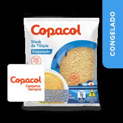 Steak de Tilápia Empanado - Copacol