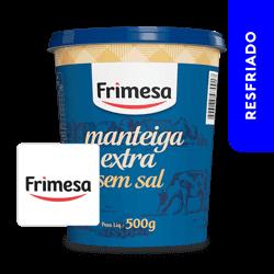 Manteiga Sem Sal 0.5kg - Frimesa