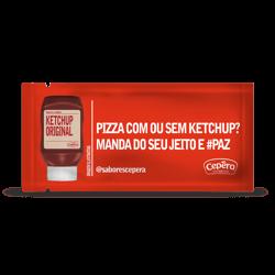 Ketchup Cepêra Sachê 175 X 7g