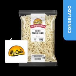 Batata Pré-Frita Corte Tradicional 2.5kg - McCain
