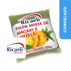Polpa de Abacaxi com Hortelã - Ricaeli
