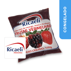 Polpa de Frutas Vermelhas - Ricaeli