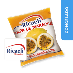 Polpa de Maracujá - Ricaeli