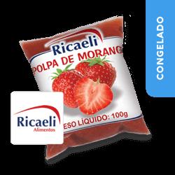 Polpa de Morango - Ricaeli